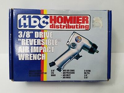 "New Unused Hdc Homier 3/8"" Reversible Air Impact Wrench"