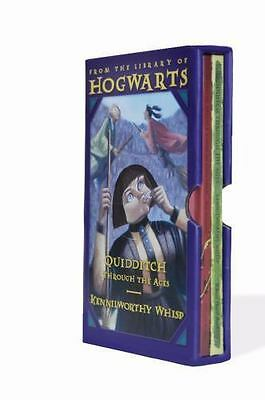 Harry Potter Hogwarts 2 Book Box Set : Quidditch & Fantastic Beasts Brand New!