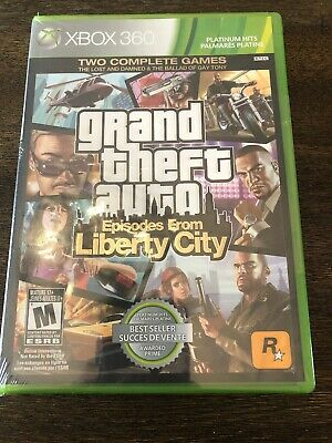 (360/Xbox One) Grand Theft Auto Episodes From Liberty City Platinum Hits *New*