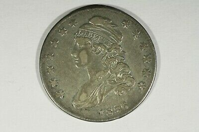 1836 Capped Bust Half, XF
