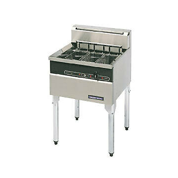 Electric Fish Fryer 600mm Blue Seal E603 Stainless Steel 30L 3 Baskets INCLUDED