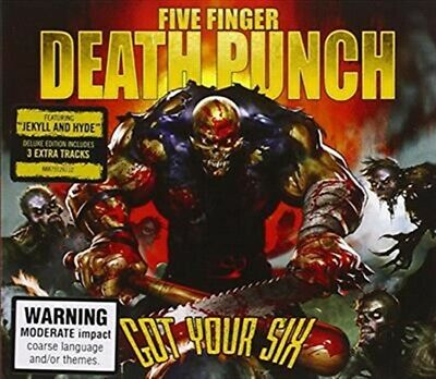 Five Finger Death Punch, Got Your Six: Deluxe Edition, CD