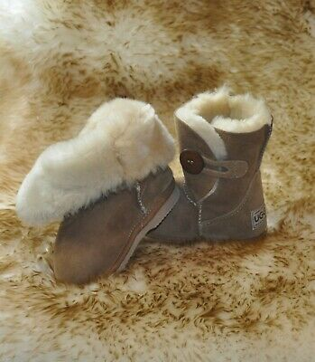 Ugg Boots Australian Hand Crafted Kids Sheepskin Button