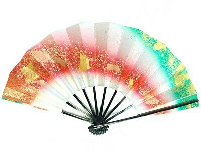 Vintage Japanese Geisha Odori 'Maiogi' Folding Dance Fan from Kyoto: SeptK