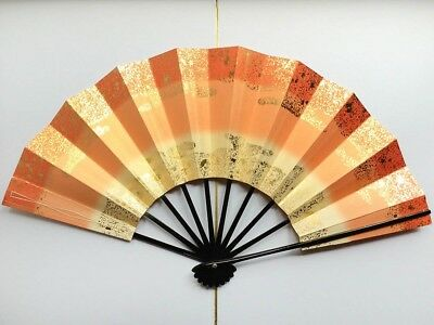 Vintage Japanese Geisha Odori 'Maiogi' Folding Dance Fan from Kyoto: Design S