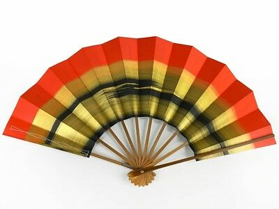 Vintage Japanese Geisha Odori 'Maiogi' Folding Dance Fan from Kyoto: MayIIM