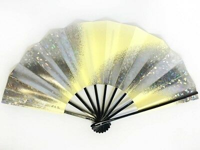 Vintage Japanese Geisha Odori 'Maiogi' Folding Dance Fan from Kyoto: SeptQ