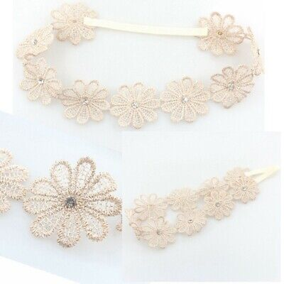 Gift Garland Girl Wedding Bohemia Rhinestone Baby Headband Sunflower Hairband