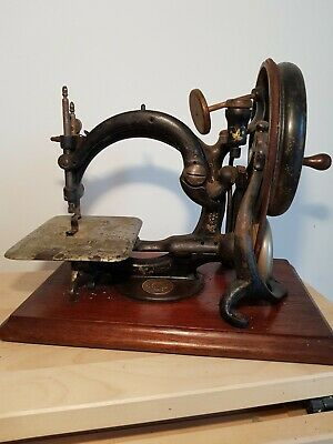 Willcox & Gibbs Antique Sewing Machine New York  A491365