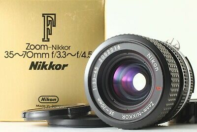 [MINT in Box!!]  NIKON Ai-S Ais Zoom NIKKOR 35-70mm F/3.3-4.5 Lens From Japan