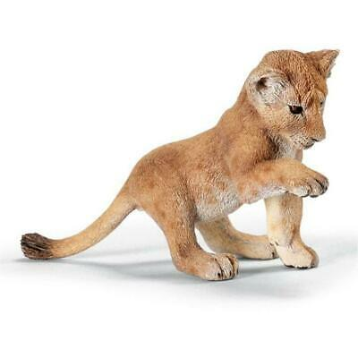 Schleich 14377 Lion Cub playing - Retired Schleich Figure in 2015