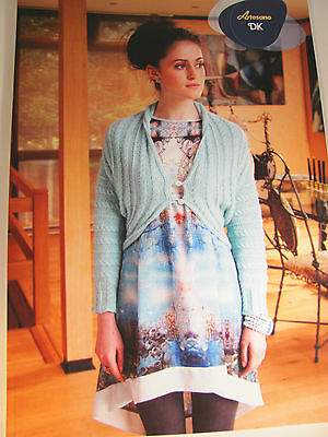 Artesano Ladies Double knitting pattern of Snuggly Knits