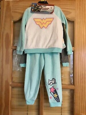 Brand New With Tags Girls Super Hero Pjs 2 Pk Age 5 Years