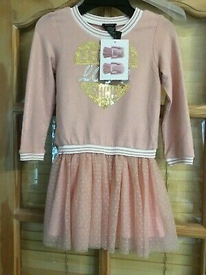 Brand New With Tags Girls Zunie Dress/Top Age 4 Years