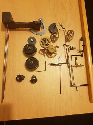 Old clock parts, job lot from old wall clocks.