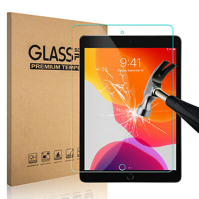 For Apple iPad 10.2 inch 7th Gen. 2019 HD Tablet Tempered Glass Screen Protector