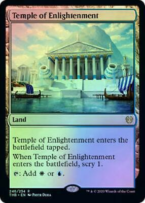 Temple of Enlightenment 246/254 - Foil Near Mint MTG Theros: Beyond Death