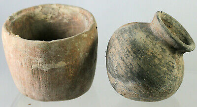Two pottery vases - possibly ancient Roman or Near Eastern?