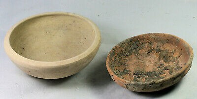 Two pottery bowls - possibly ancient Roman or Near Eastern?