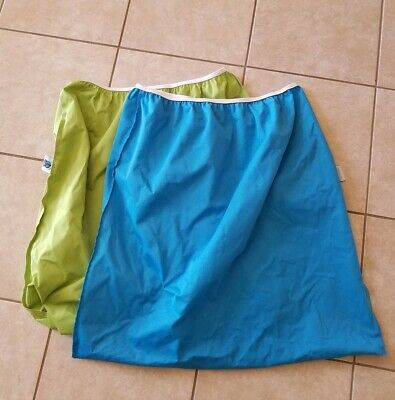 Planet Wise Blue Green Large Pail Liner Lot of 2