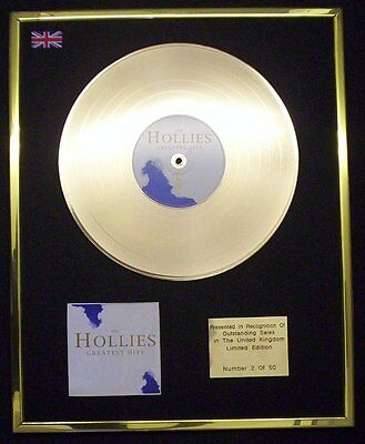 Hollies Greatest Hits Cd Gold Disc Lp Free P+P!