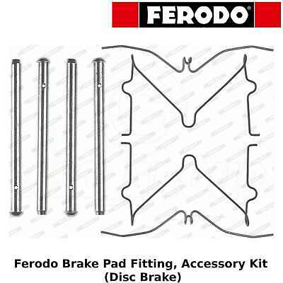 FBA502 Brake Accessory Pad Fitting Kit Front Axle Replace KIT510 LX0210