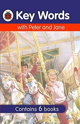 Ladybird Key Words with Peter and Jane Boxed Set by William Murray Hardback NEW