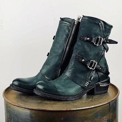 "A.S.98 AS98  Stiefelette Stiefel Boots MILITARE  NATUR /""  638202  No 37"