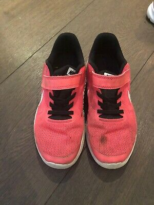 girls Pink Nike  trainers size 2