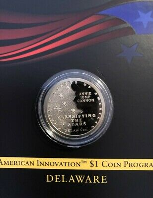 2019 S REVERSE PROOF  American Innovation  DELAWARE Deep Cameo