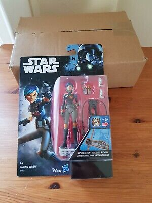 STORMTROOPER ACTION FIGURE 10 CM CON ACCESSORI STAR WARS REBELS SABINE WREN
