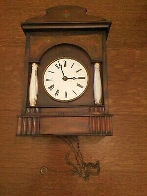 Antique Black Forest Clock Spares or Repair