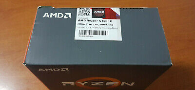 AMD Ryzen 5 1600X - 3.6GHz Quad-Core (YD160XBCAEWOF) Processor Only, No Heatsink