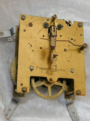 vintage mantel clock movement for repair or spares