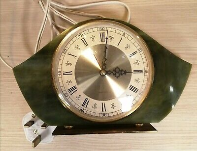 Vintage Westclox Electric Mantle Clock. Tested, working perfectly