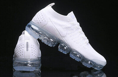 Nike Air VaporMax Flyknit 2 Men's Air cushioned running shoes All white