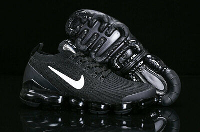 Nike Air VaporMax Flyknit 3.0 2019 Mens Running Shoes Black and white