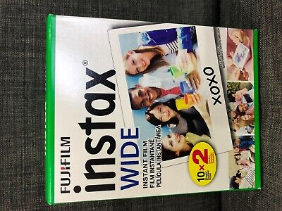 Fujifilm Instax Wide Instant Film For 200 210 300 Wide Cameras 20 SHEETS SEALED