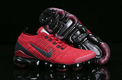 Nike Air VaporMax Flyknit 3.0 2019 Mens Running Shoes Red and black