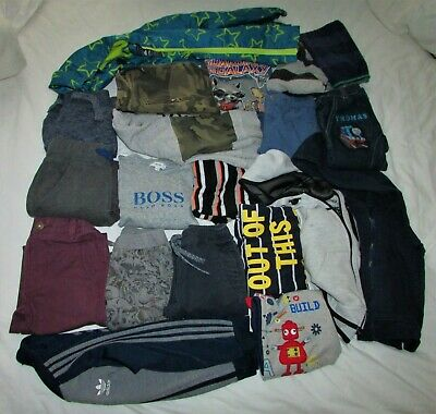 BUNDLE BOYS CLOTHES 3-4y JEANS~JOGGERS~HOODIES~COAT (ADIDAS~NEXT~HUST&CLAIRE)