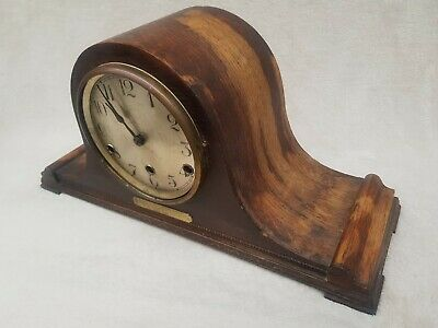 Lovely Antique Napoleon Hat Westminster Mantle Clock  - No Reserve