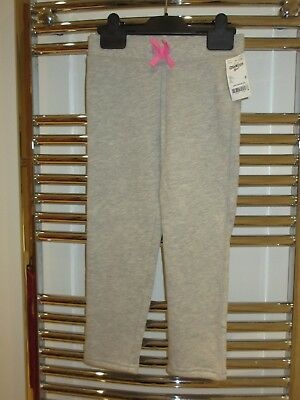 BNWT Girl's grey and pink OshKosh jogging bottoms age 6 years luxury US brand