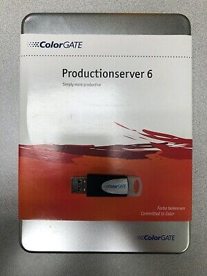 ColorGATE Production Server 6 with USB Dongle
