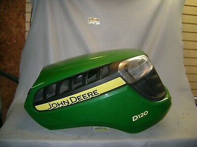 John Deere D120 Hood With Grille And Headlights