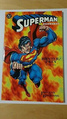 Superman Doomsday Hunter Prey Book 1 by Dan Jurgens DC Comics (Paperback)<