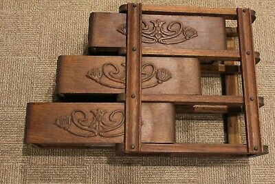 Antique Singer Treadle Sewing Machine Cabinet Oak Drawers with Frame Right Side