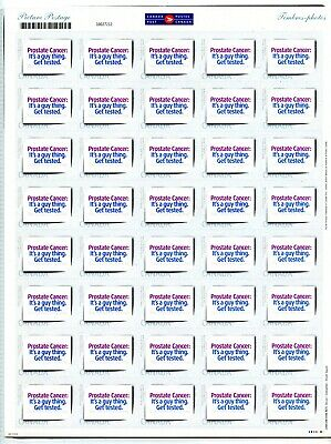 Weeda Canada 2064iii VF MNH personalized picture postage pane of 40, Prostate