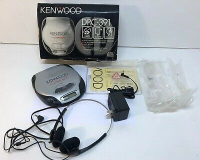 Kenwood DPC-391 Portable CD Player w/Bass Boost Vintage 1998 Complete w/Box Nice