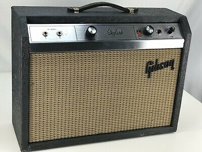 Vintage 1960s Gibson Skylark GA-5 Guitar TUBE Amp Amplifier - Serviced