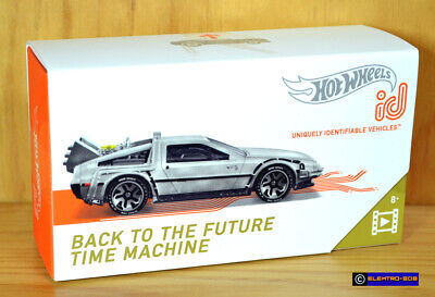 Hot Wheels id Back to the Future Delorean [Time Machine] BTTF - New/Sealed/XHTF